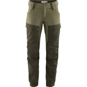 Fjällräven Keb Broek Dames, deep forest/laurel green